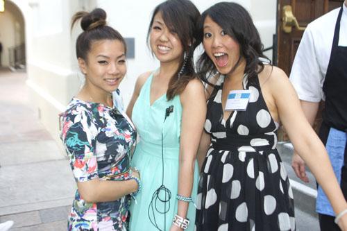 Aliyah Wong, Sunny Chung, Alison Ma