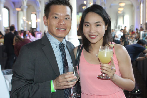 Eric Tung, Melissa Lee
