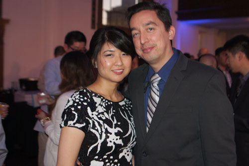 Ray Warriner, Theresa Kiang