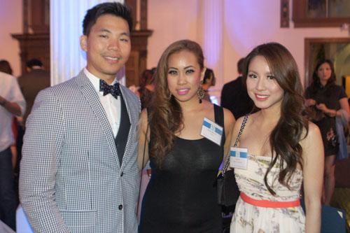 JT Kim, Marian Bacol-Uba, Kayla Vu