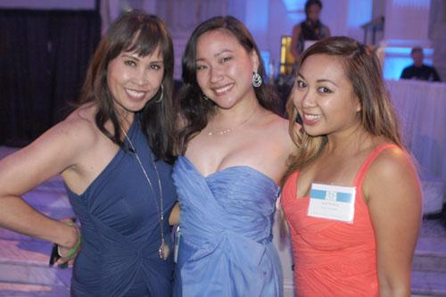 Susan Hirasuna, Margaret Lin, Sarah Mendoza