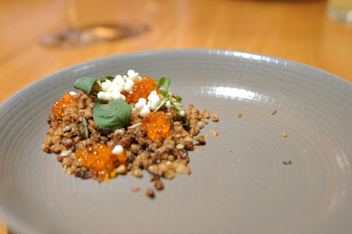 Grains & Seeds, Sturgeon, Dashi