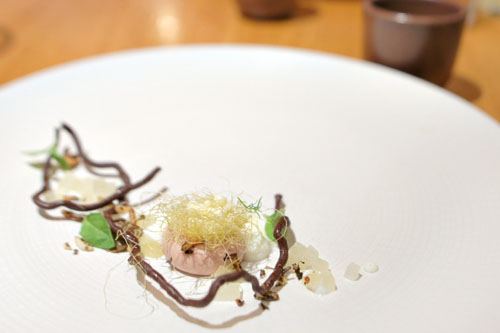 Duck, Chocolate, Corn