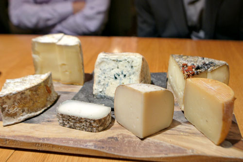 Atelier Crenn Cheese Selection