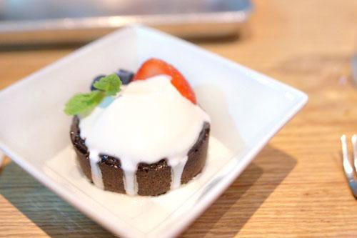 Belgium Chocolate Lava Cake