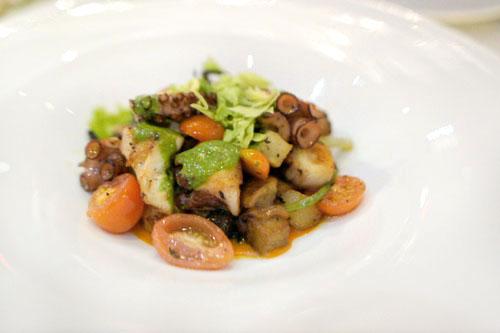 Polipo con Olive e Patate