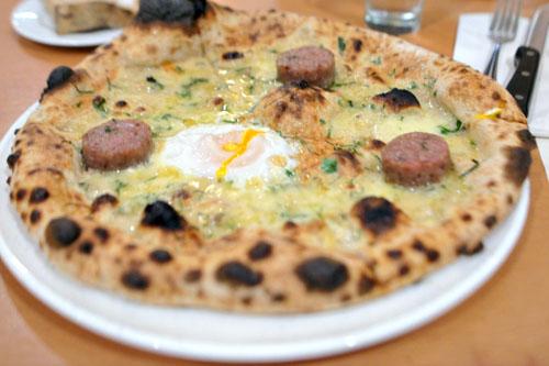 Cotechino with Fontina and Egg