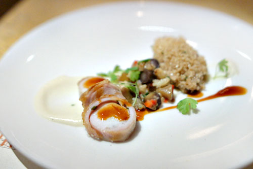 Roasted Rabbit Loin