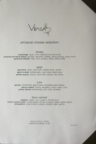 Vidalia Cheese Selection