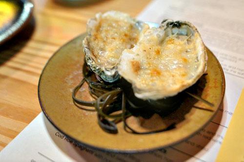 Baked Rappahannock Oyster