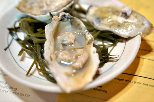 Grilled Rappahannock Oyster