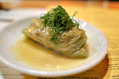 Pork and Beef Stuffed Cabbage