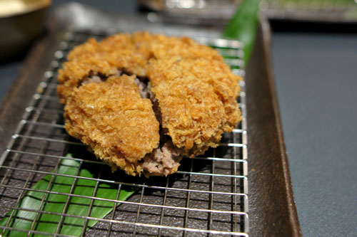 Ground Kobe Beef Katsu