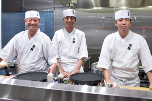 Keizo-san, Nori-san, Masa-san