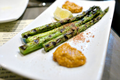 Grilled Asparagus w/ Dried Tuna