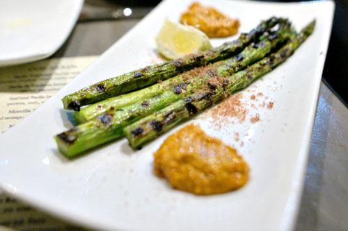 Grilled Asparagus w/ Dried Tuna