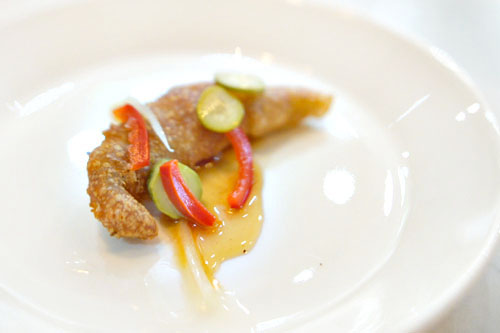 white anchovy with cubeb-honey, tonnato