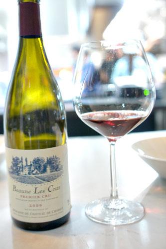 2009 Domaine du Château de Chorey Beaune 1er Cru Les Cras Vieilles Vignes