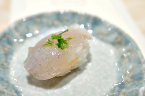 Japanese Suzuki (Sea Bass) nigiri