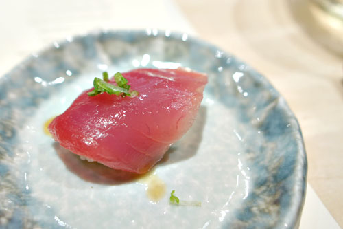 Japanese Katsuo (Skipjack) Tuna nigiri