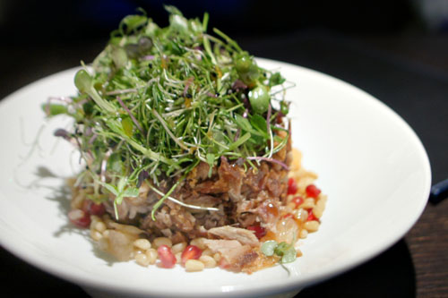 Crispy duck salad