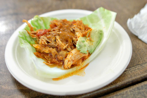 Cabbage-Wrapped Tinga