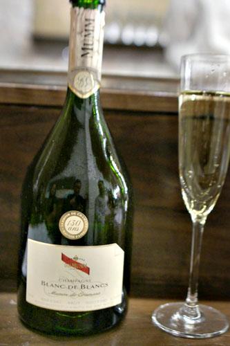 Champagne, Grand Cru, Chardonnay, Brut, G.H. Mumm, 'Mumm de Cramant', France, NV