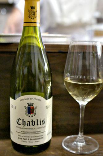 Chablis, Jean-Paul Droin, Burgundy, France, 2011