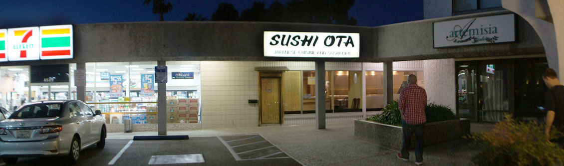 Sushi Ota Exterior