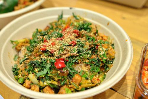 Kimchi Spam Bowl