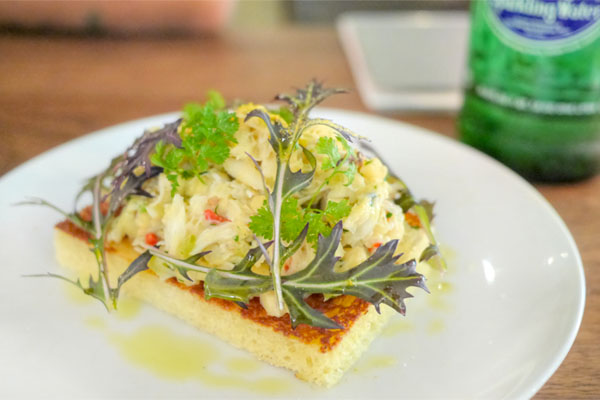 Dungeness Crab on Toast