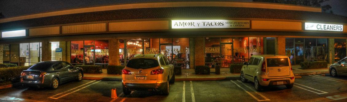 Amor y Tacos Exterior