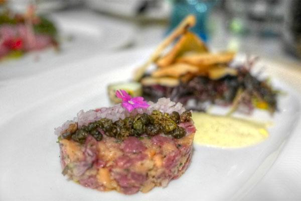 Lamb & Smoked Salmon Tartare