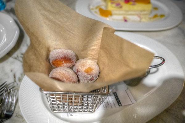 Warm Maple Caramel Donuts