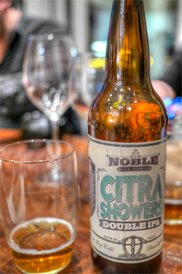 Noble Ale Works Citra Showers