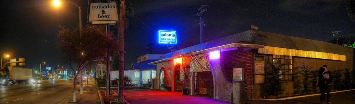 Colonia Taco Lounge Exterior