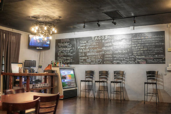 Colonia Taco Lounge Menu