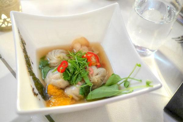 Foraged Mushroom Dumplings