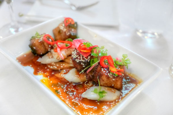 Crispy Pork Belly Cubes