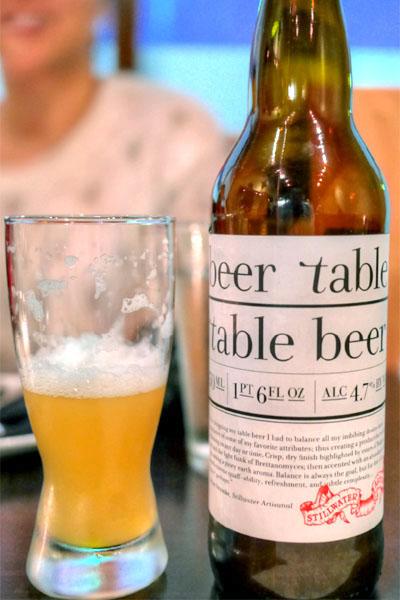 Stillwater Artisanal Beer Table - Table Beer