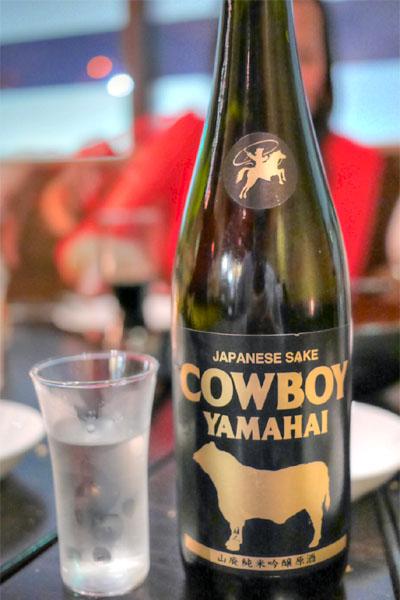 Cowboy Junmai Ginjo Sake, Niigata