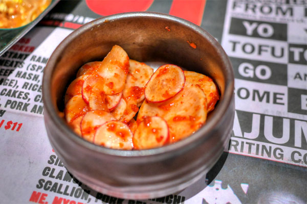 Pickled Kimchi Radish