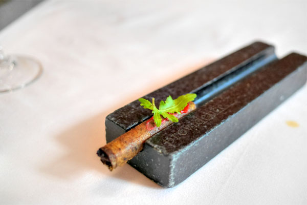 Braised Wagyu Cigar