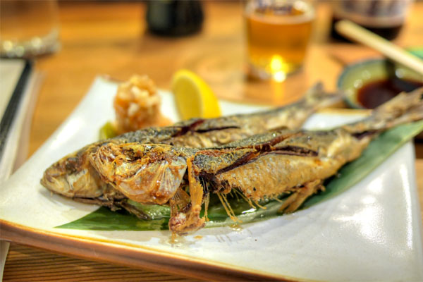 Sardines with Ponzu