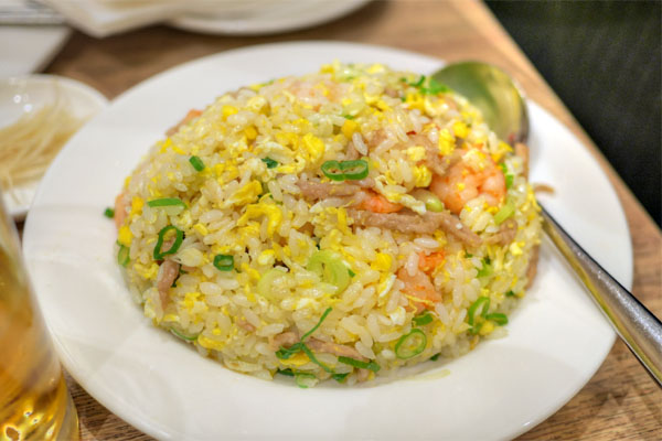 #29 - Shrimp and Pork Fried Rice (With Egg) (White Rice)