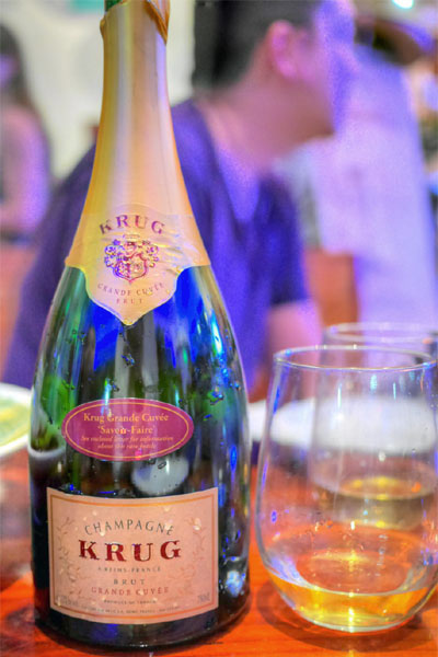 NV Krug Champagne Grande Cuvée 'Savoir-Faire'