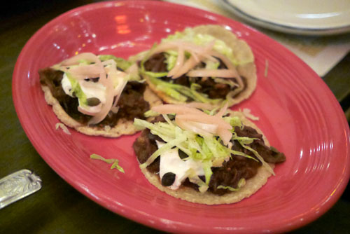 Jamaica Tinga Tacos