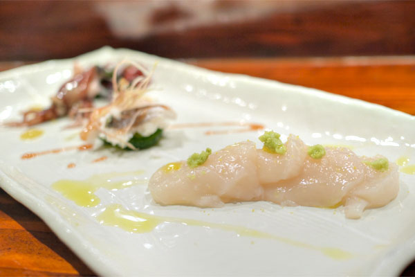 Hokkaido Scallop / Conger Eel / Baby Squid