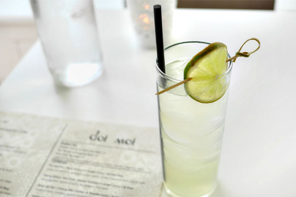 Gin & Green Apple Soda
