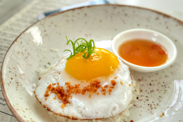 Kai Dao / Fried Duck Egg
